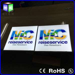 How to Make a Custom Lighted Sign for LED Advertising Light Boxes pictures & photos