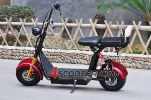 6inch 500W 36V Cheap Harley 2 Seats Electric Scooter Es5018 pictures & photos