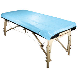 Disposable PP Non Woven Stretcher Bed Cover pictures & photos