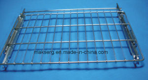 FDA Standard Antirust Adjustable Sliding Steel Oven Bracket pictures & photos