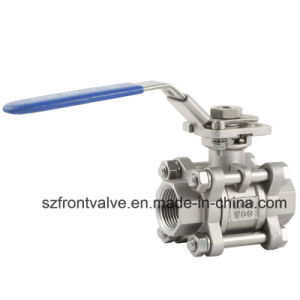 Investment Casting Threaded Stainless Steel Ball Valves pictures & photos