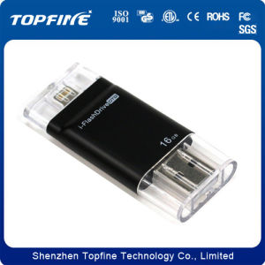 Mobile Phone Mini OTG USB Flash Drive for iPhone pictures & photos
