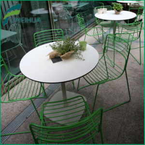 Durable Impact Resistant Garden HPL Table Top /Table pictures & photos