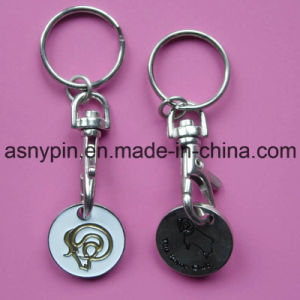 Customized Trolley Coin Holder Shopping Cart Coin pictures & photos