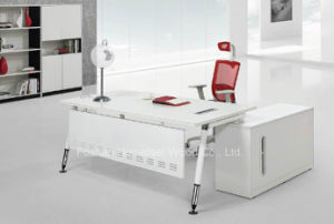 White High Glossy Executive Manager Director Office Desk Furniture (HF-AE022) pictures & photos