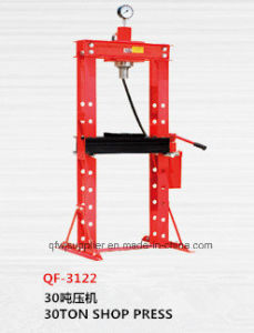 30t Shop Press, W/Pressure Gauge pictures & photos