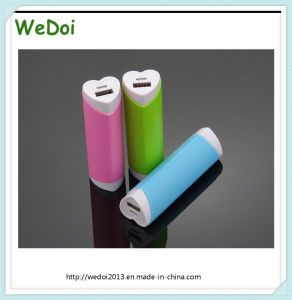 New Perfect Hear Shape Lipstick Power Bank (WY-PB24) pictures & photos