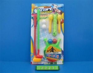 Sport Set Toy with Jumping Rope, Golf, Table Tennis (522235) pictures & photos