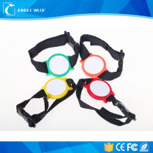 Programmable Woven Children RFID Wristband for Events pictures & photos