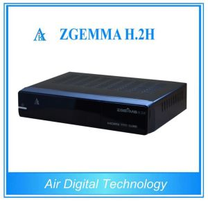 Dual Core CPU Satellite Receiver DVB-S2+DVB-T2/C Zgemma H. 2h pictures & photos