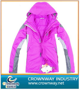 Windproof Waterproof Padded Women′s Winter Jacket with Many Colors pictures & photos