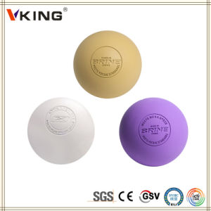 Ncaa Point Rubber Custom Lacrosse Ball pictures & photos