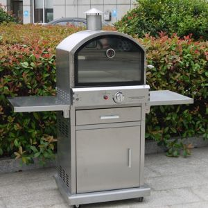 Outdoor 304 Stainless Steel Gas Pizza Oven with Ce CSA pictures & photos