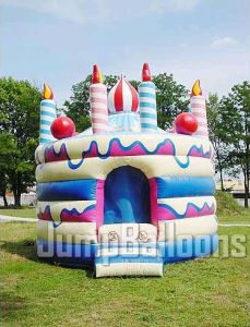 Birthday Moon Cake Party Jumper, Inflatable Toys, Bouncy House for Girl pictures & photos