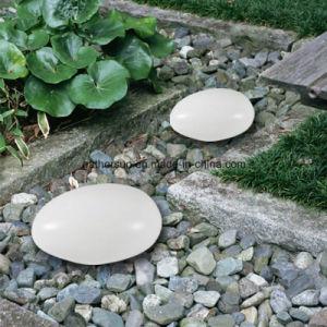 Promotion Solar Landscape Lawn Lighting with Cobblestone Shape pictures & photos