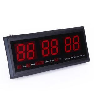 [Ganxin] New Timer Relay Design Switch Control LED Calendar Digital Clock pictures & photos