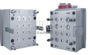 12 Cavities Oil Cap Mould for Plastic Injection Mould