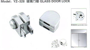 Yz-348 Stainless Steel, Stainless Iron Glass Door Lock pictures & photos