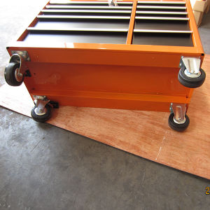 42in 11 Drawer New Design Cheap Orange Metal Roller Cabinet pictures & photos