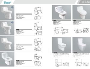 Cheap Upc Elongated Siphonic Two Piece Ceramic Toilet with Cupc pictures & photos