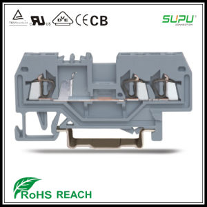3 Conductor Feed Through Terminal Blocks for Cabinet Control pictures & photos