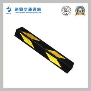 High Reflective Parking Wall Rubber Corner Guard pictures & photos