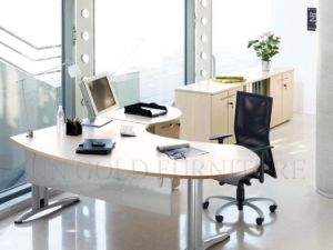 Modern Color Executive Office Desk with Vice Cabinet (SZ-ODL312) pictures & photos