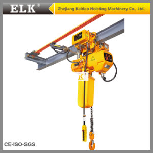 China 1ton Motorized Lifting Chain Hoist With Electric