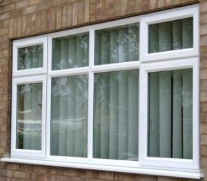 Polyester White Powder Coat French Aluminium Doors and Windows pictures & photos