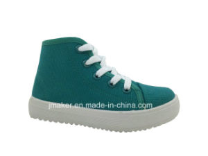 China Wholesale Children High Top Canvas Shoes (C432-S)