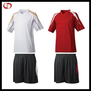 Sports Polyester Soccer Uniform for Men pictures & photos