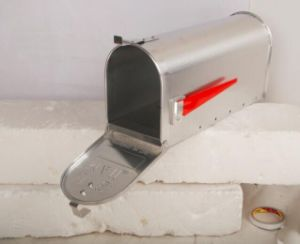 Aluminium /Galvanized Steel Standing Outdoor American Mail Box pictures & photos
