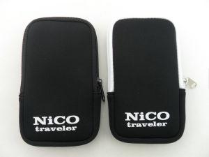 Custom Hot Design Zipper Neoprene Mobile Phone iPhone Case pictures & photos
