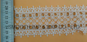 Cotton Fabric Silver Copper Lace Eyelet Fashion Garment Accessories Textile pictures & photos