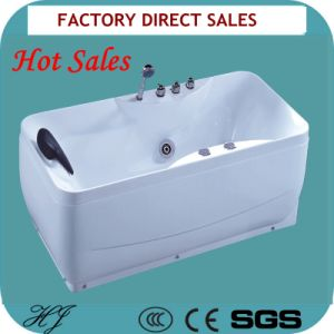 Hot Seles Sanitary Ware Indoor Whirlpool Bathtub (5249) pictures & photos