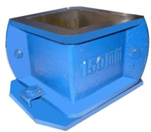 High Quality Cast-Iron Cube Mold 2 Parts pictures & photos
