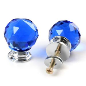 Cheap Blue Crystal Ball Knobs for Cabinet pictures & photos