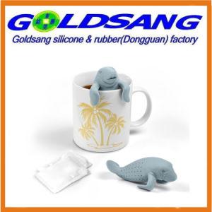 Whole Sales Cute Sea Lion Shape Silicone Tea Strainer pictures & photos