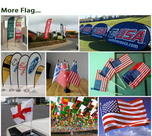 Portable Folding Pop up A-Frame Outdoor Sports/Event/Advertising/Exhibition/Tradeshow Display Flag Banner pictures & photos