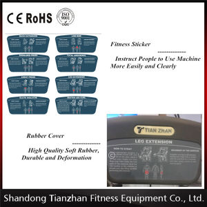 Tz-6033 Abductor Outer Thigh Equipment Body Building Gym Fitness Equipment pictures & photos