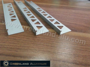 Aluminum Profiles L Shape Tile Edge Trim with Height 8/10/12mm and Matt Silver Color pictures & photos