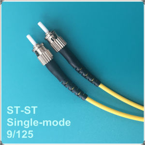 St-St Upc Single-Mode Fiber Optic Patch Cord pictures & photos