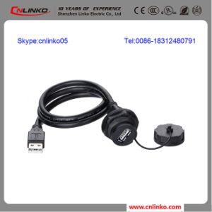 Waterproof Cap USB 3.0 Connector/ Panel Mount USB pictures & photos