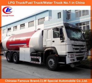 20m3 10ton LPG Dispenser Mobile Cylinder Filling Bobtail Truck pictures & photos