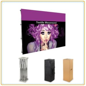 Fold up Hook & Loop Display Stand, Straight Pop up Display pictures & photos