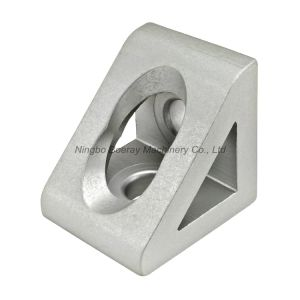 3060 Aluminum Extrusion Profile Corner Angle Bracket with 2 Hole pictures & photos