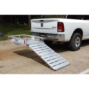 Aluminum Cargo Carrier with Loading Ramp pictures & photos