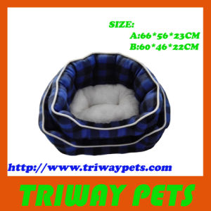 High Quaulity Soft Printed Fleece Dog Bed (WY161004A/B) pictures & photos