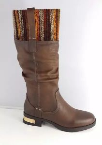 New Style Flat Knee High Boots for Ladies pictures & photos