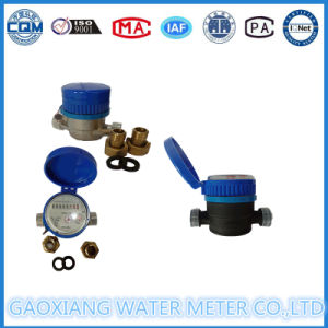Brass or Nylon Single Jet Dry Type Water Meter pictures & photos